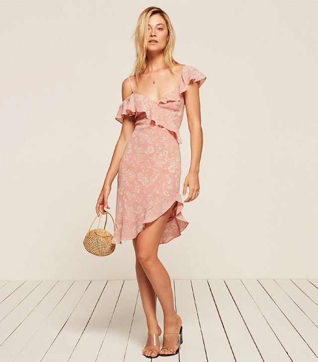 best summer dress- Reformation Adora Dress