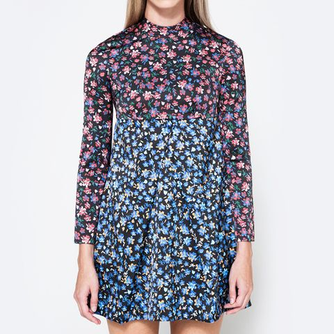LS Mini Empire Dress
