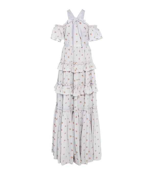 Needle & Thread Floral Cotton Gown