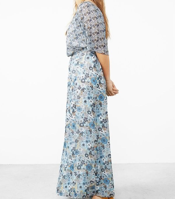 Violeta Printed Off-Shoulder Dress