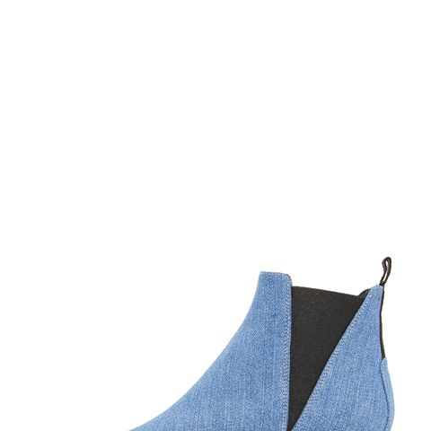 Jensen Denim Booties
