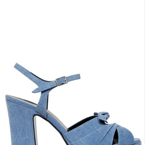 Candy Denim Sandals