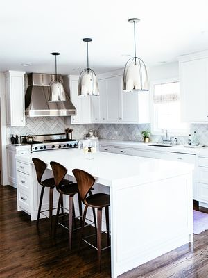 Before and After: A Dark Kitchen Gets a Bright, Elegant Makeover