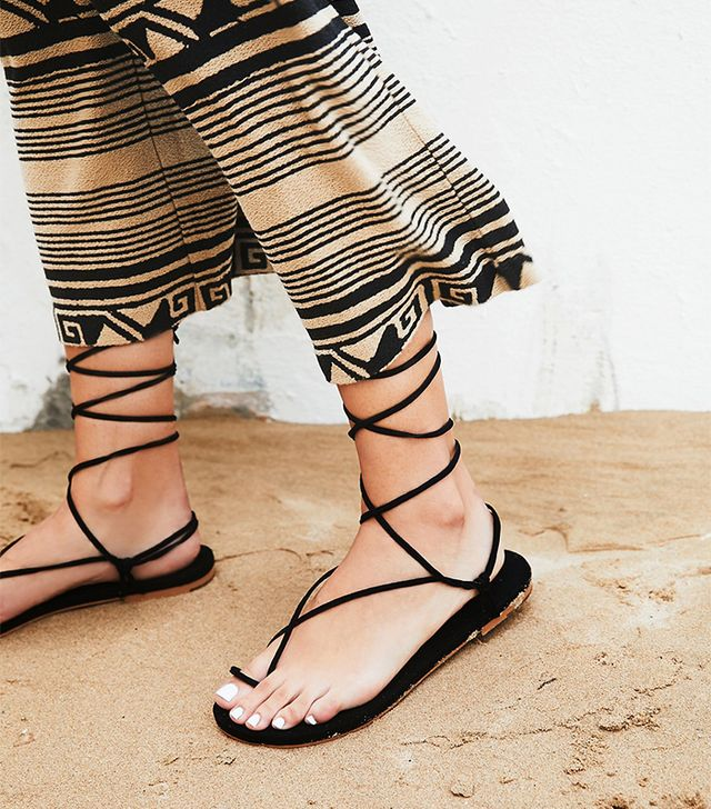 Free People Vegan Mia Wrap Sandal