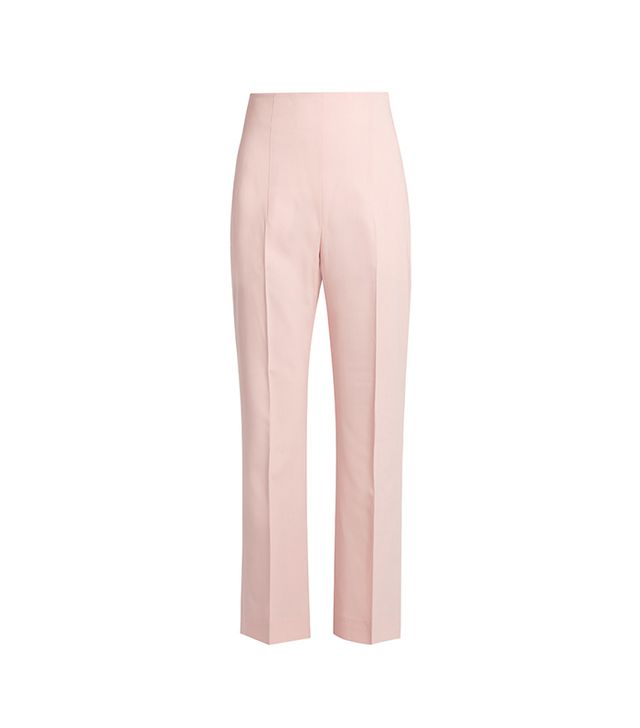 Norton Kick-flare Cropped Trousers