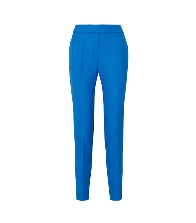 Adonis Grain de Poudre Wool Skinny Pants
