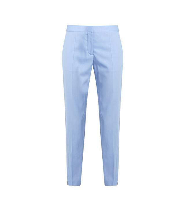 Vivian Wool Slim-leg Trousers