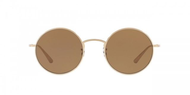 round metal sunglasses - Oliver Peoples The Row After Midnight Sunglasses