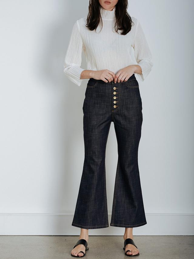 Ellery Pyramid Crop Jeans