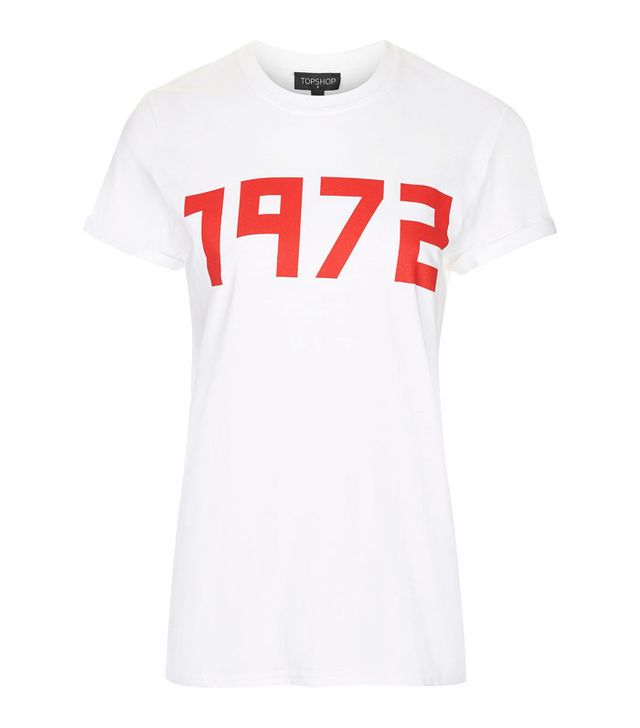 Topshop 1972 Slogan T-Shirt