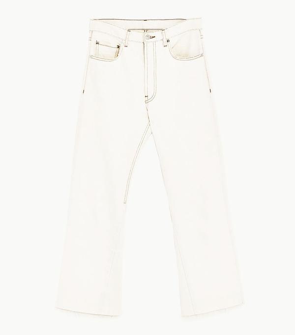 Best Zara buys: white jeans