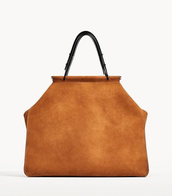 Best Zara buys: Suede bag