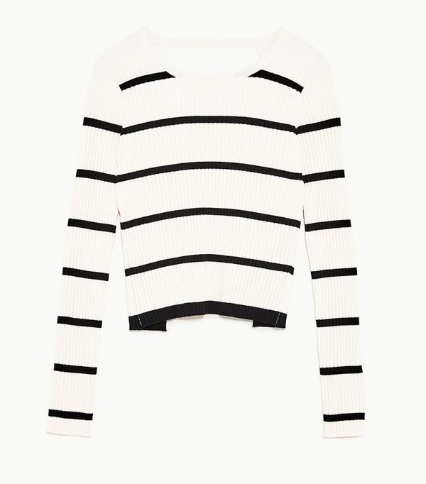 Best Zara buys: Zara stripe top