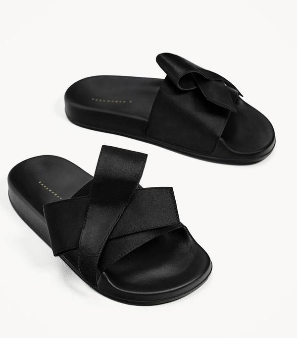 Best Zara buys: Zara satin bow slides