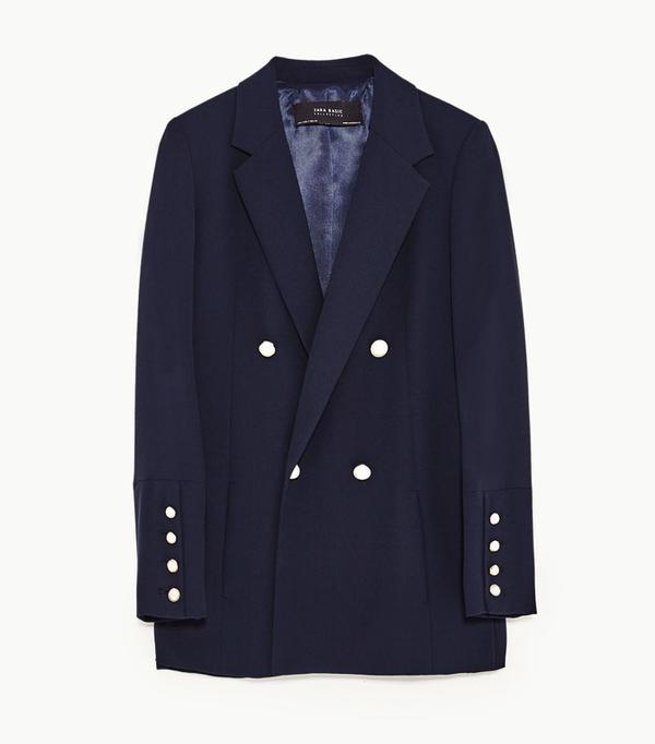 Best Zara buys: Navy blazer