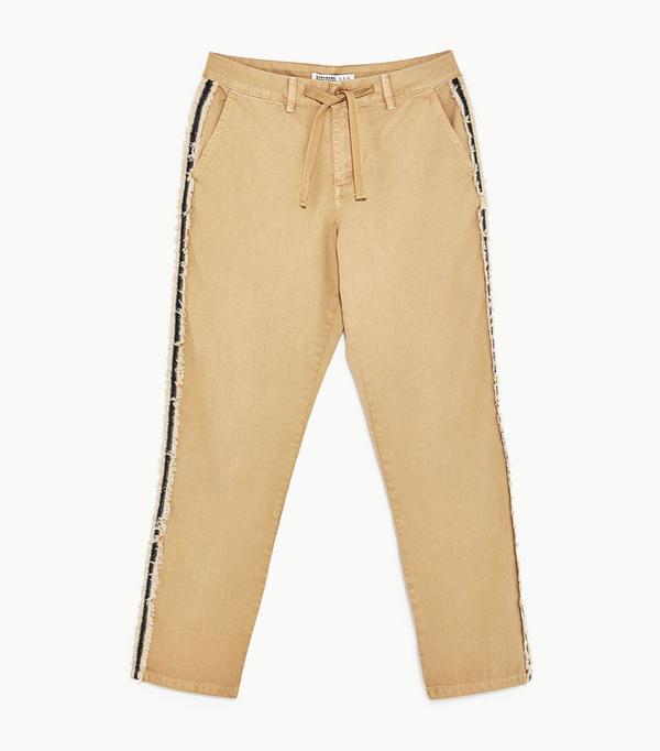 Best Zara buys: khaki trousers