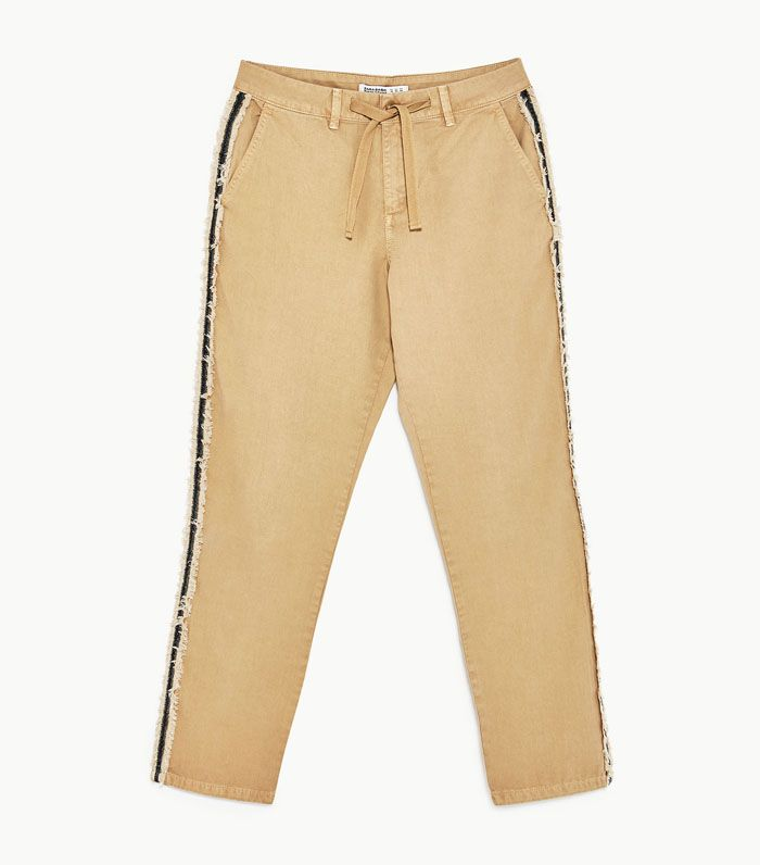 Best Zara buys: khaki trousers