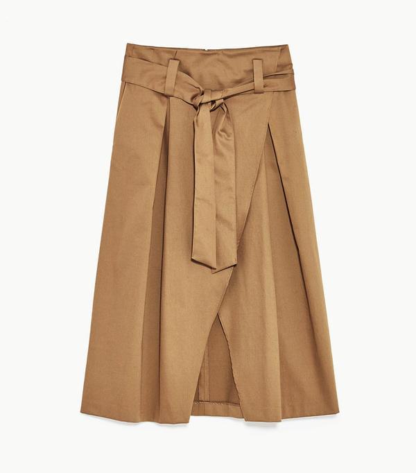 Best Zara buys: Belted skirt