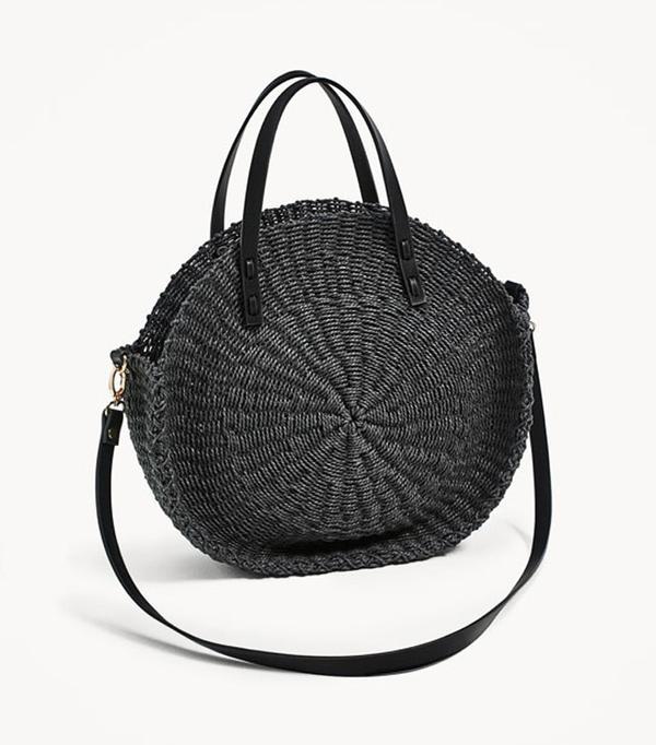 Best Zara buys: Straw bag