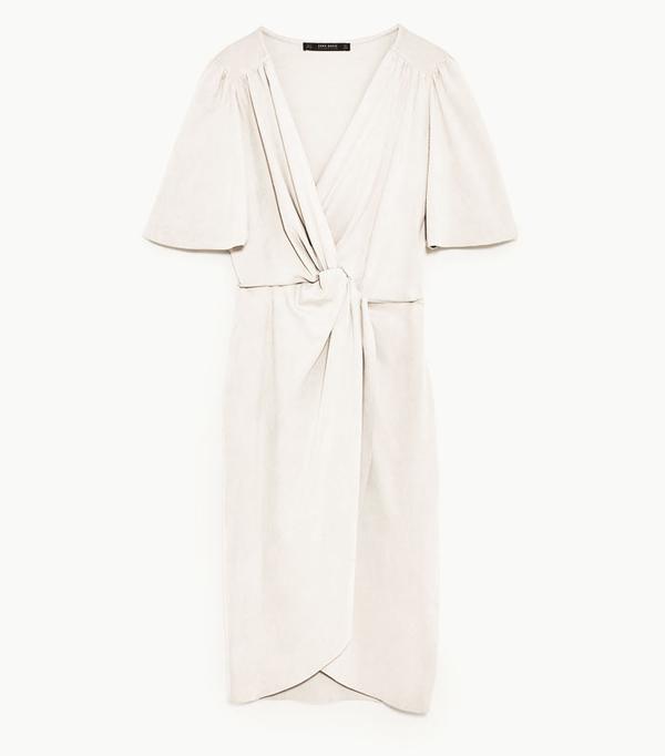 Best Zara buys: Knot front dress