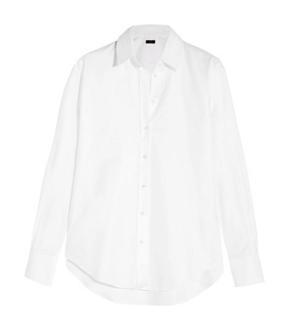 Rei Kawakubo style: Joseph white shirt