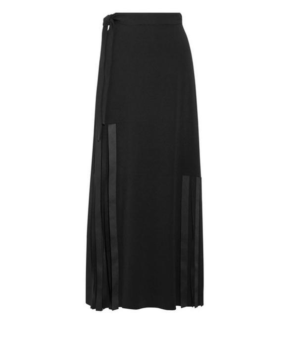 Rei Kawakubo style: Helmut lang midi skirt
