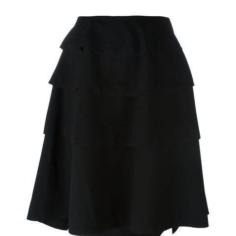 Structured Midi Skirt