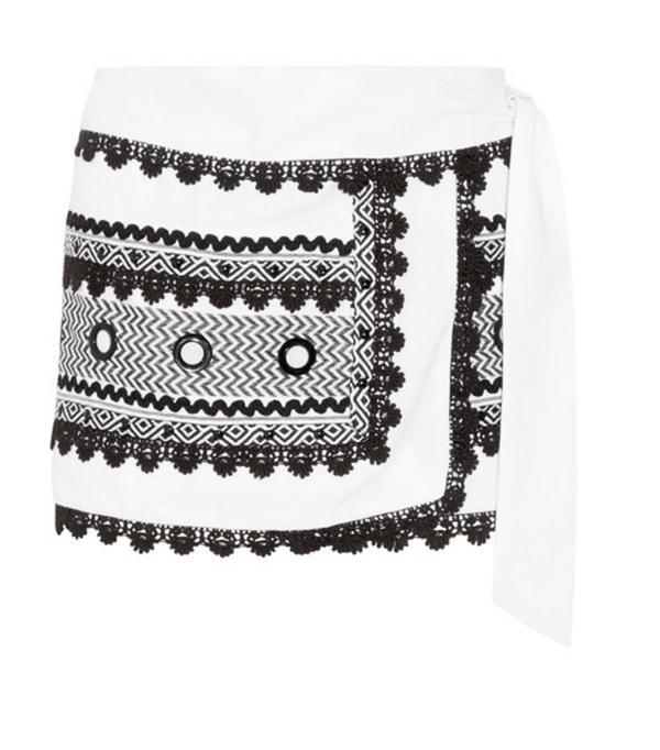 Lulama Wolf style: Wrap skirt