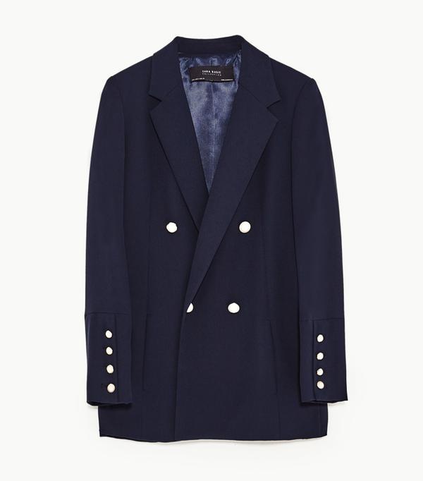 Lulama Wolf style: Zara blazer
