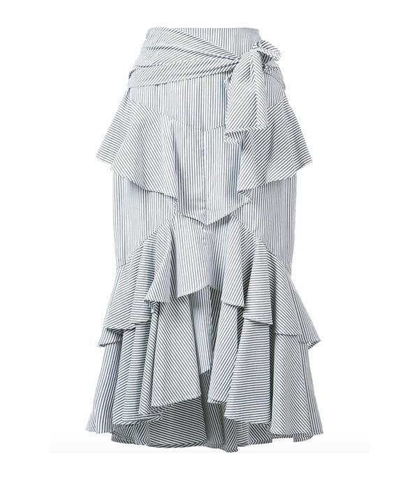 Rebecca Vallance The Parker Frill Skirt