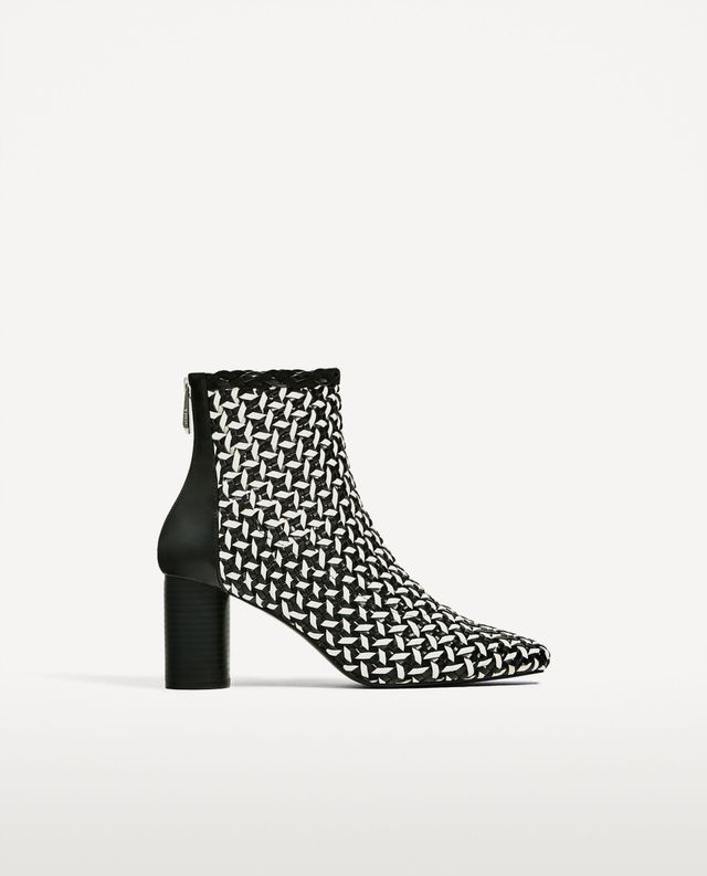 Zara Two-tone Ankle Boots