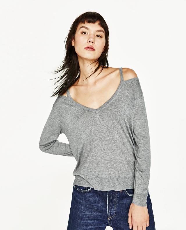 Zara Cut Out Sweater