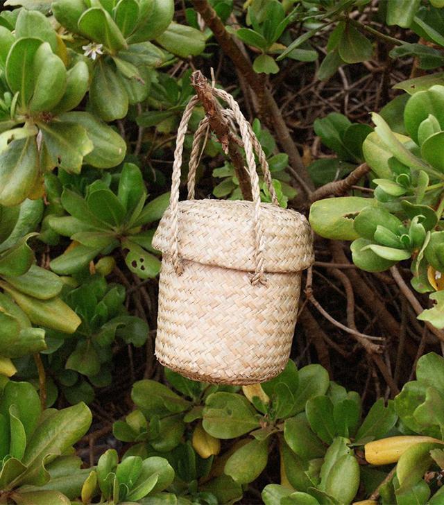 best affordable summer bag: Doen Phoebe basket