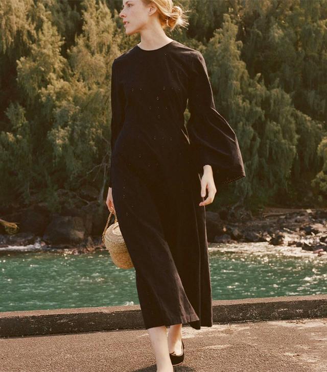 best black summer dress- doen Noisette Dress