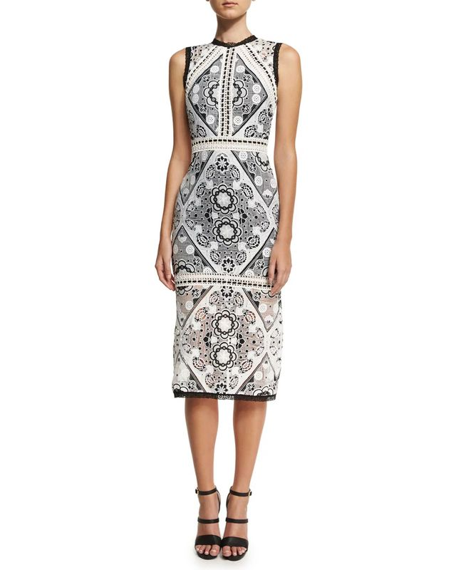 Alexis Keena Lace-Overlay Cocktail Dress, #OnlyatNM