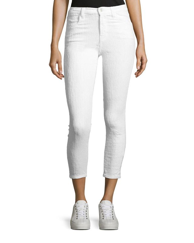 J Brand Alana High-Rise Cropped Skinny Jeans, #OnlyatNM