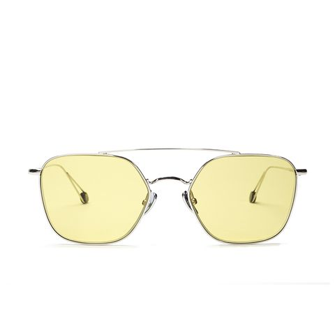 White Gold With Yellow Lenses Limited Edition