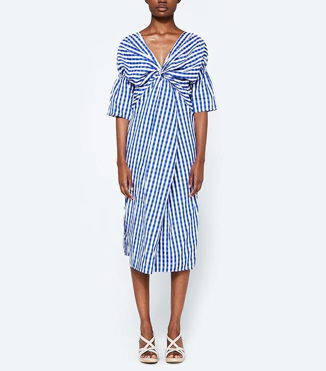 farrow gingham dress