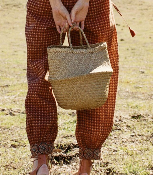 doen straw bag