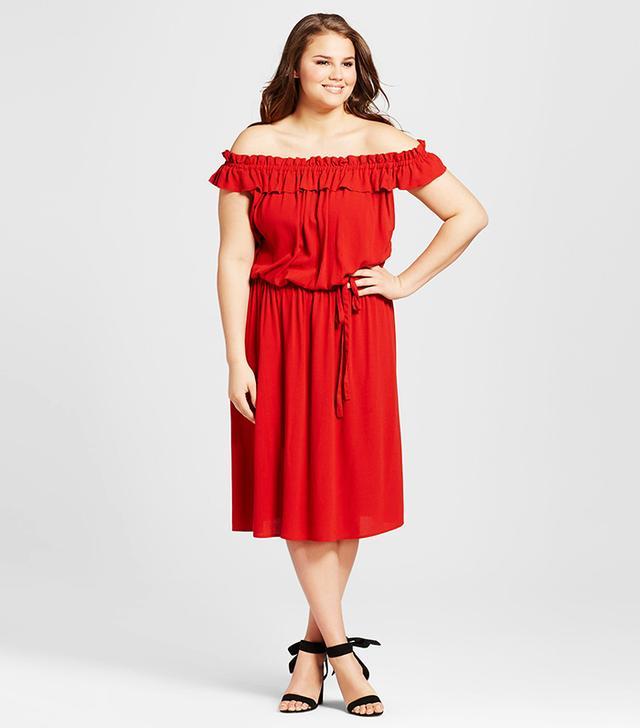 who what wear plus size dress