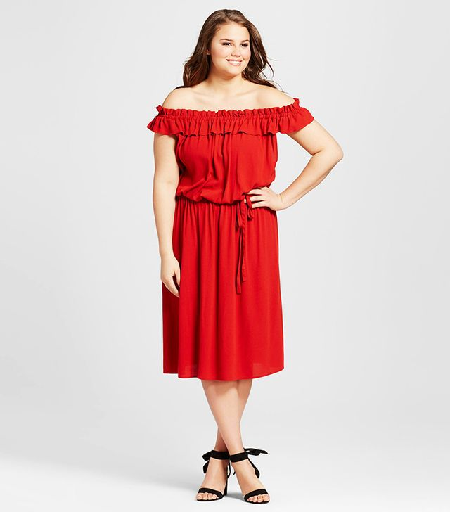who what wear plus size dress