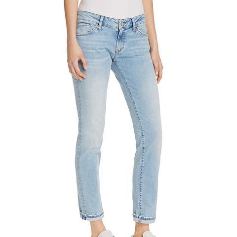 Emma Slim Boyfriend Jeans in Light Blue Vintage