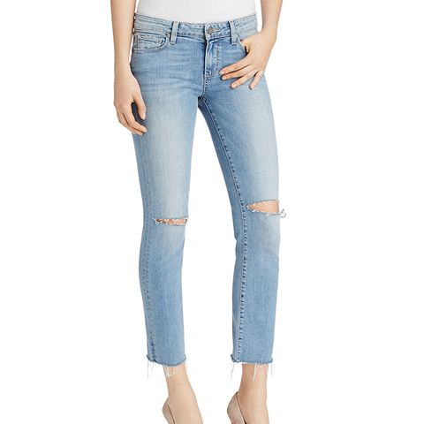 Miki Straight Jeans in Bella Destructed