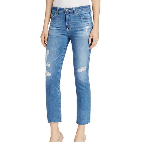 Jodi Distressed Cropped Jeans