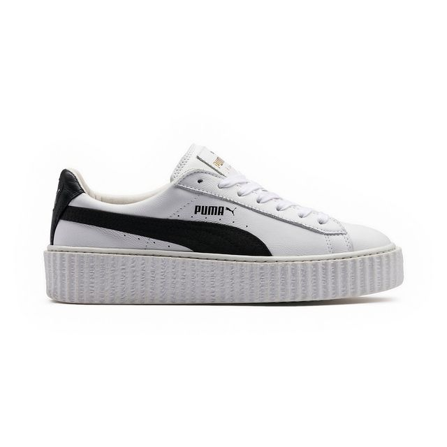 Puma Creeper White Leather Sneakers