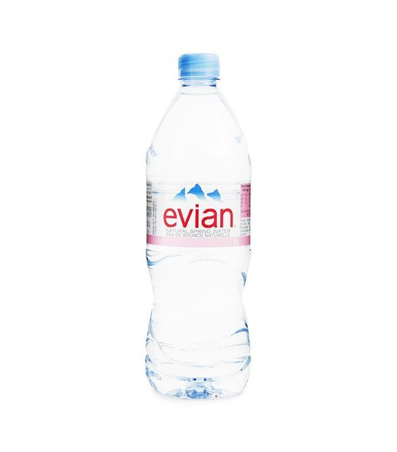 Evian Natural Spring Water 12 Pack