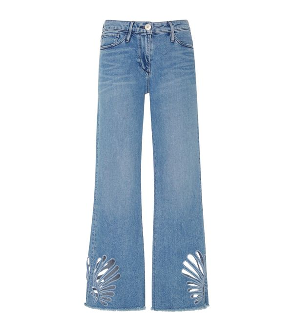 3X1 Freeja High-Rise Bootcut Jeans