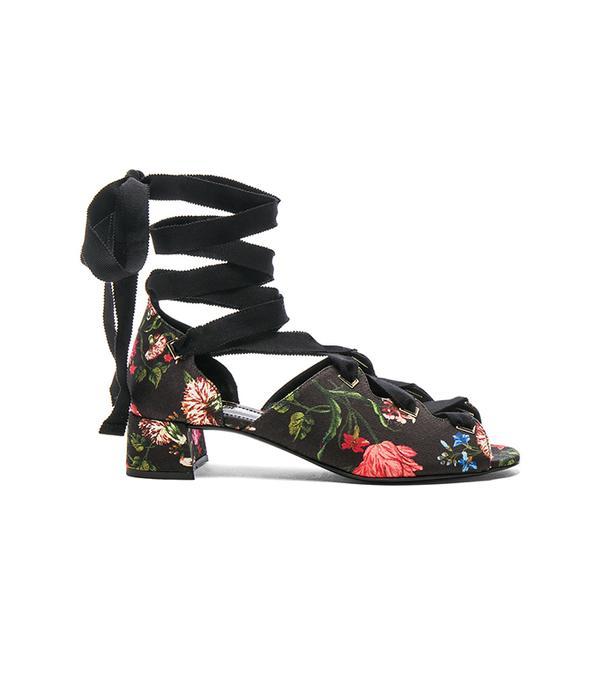 best printed sandals erdem