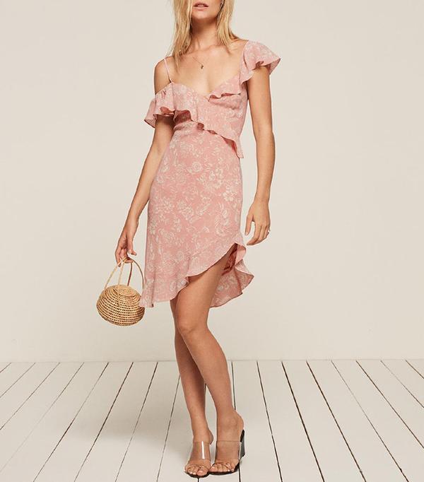 reformation adora dress