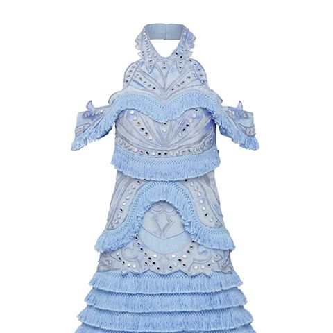 Aphrodite Fringe Dress